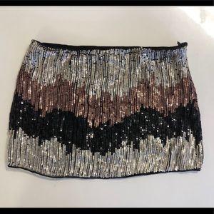 Dresses & Skirts - Zig Zag Sequin Skirt